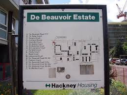 Map of De Beauvoir Estate
