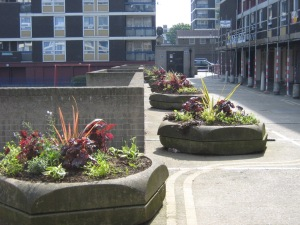 De Beauvoir planters